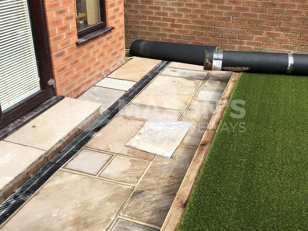 artificial lawn and landscaping done in preston, lancashire