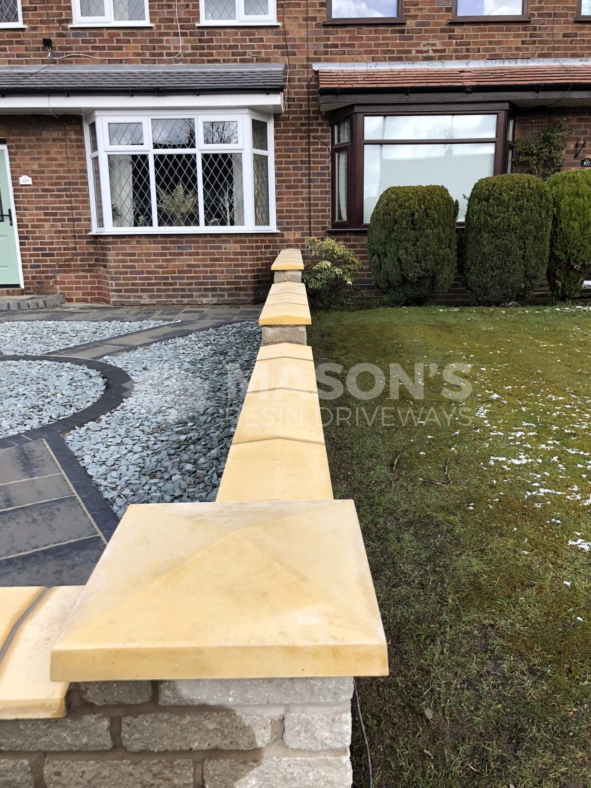 walling and block paving in preston, leyland