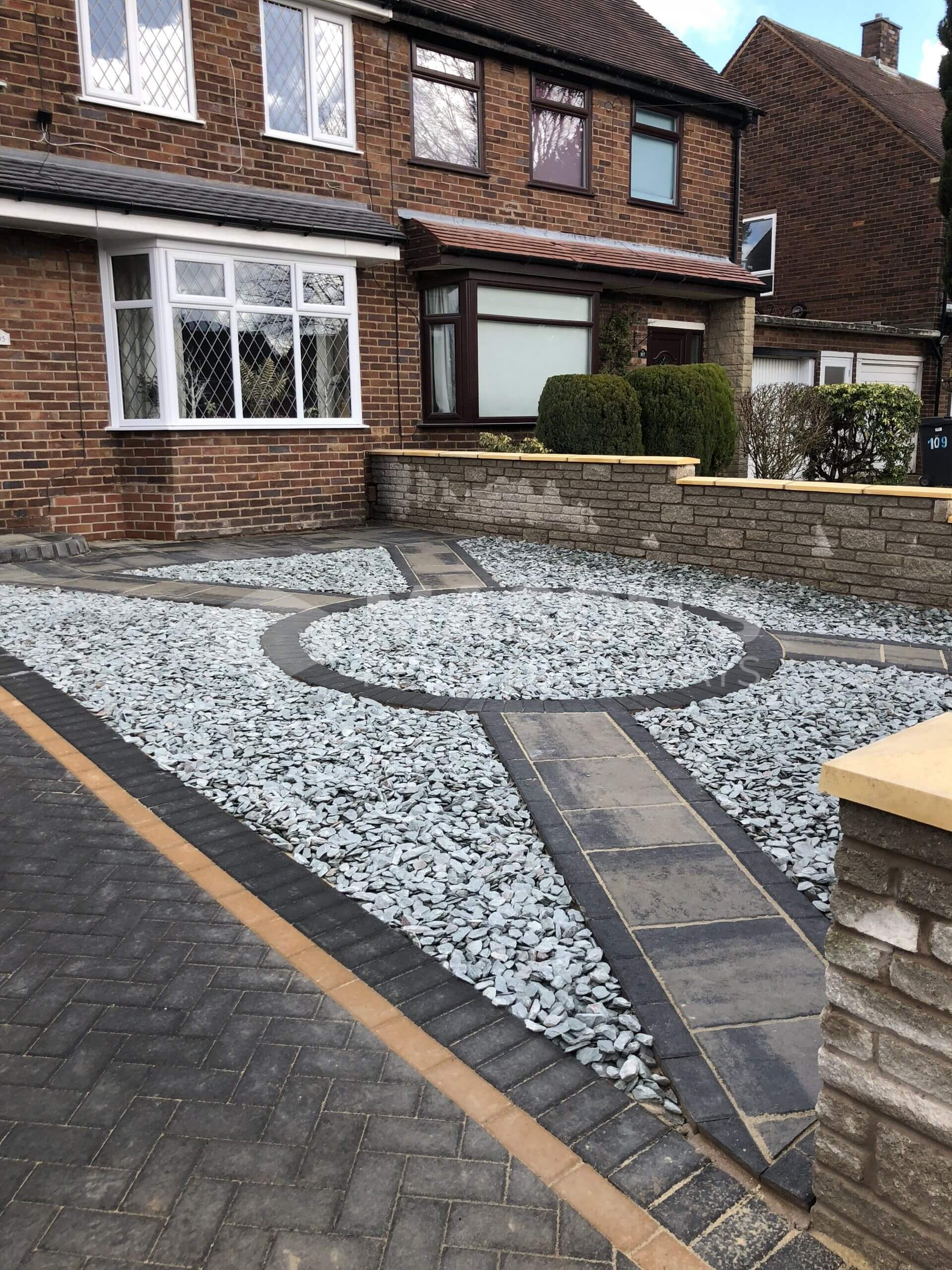 walling, landscaping and block paving, leyland near preston