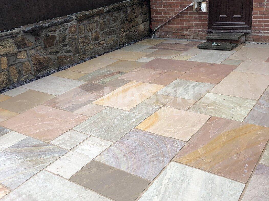 bradstone chorley indian sandstone patio near preston