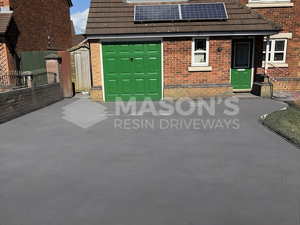 Pattern Imprinted Concrete Driveway Preston Platinum Ashlar