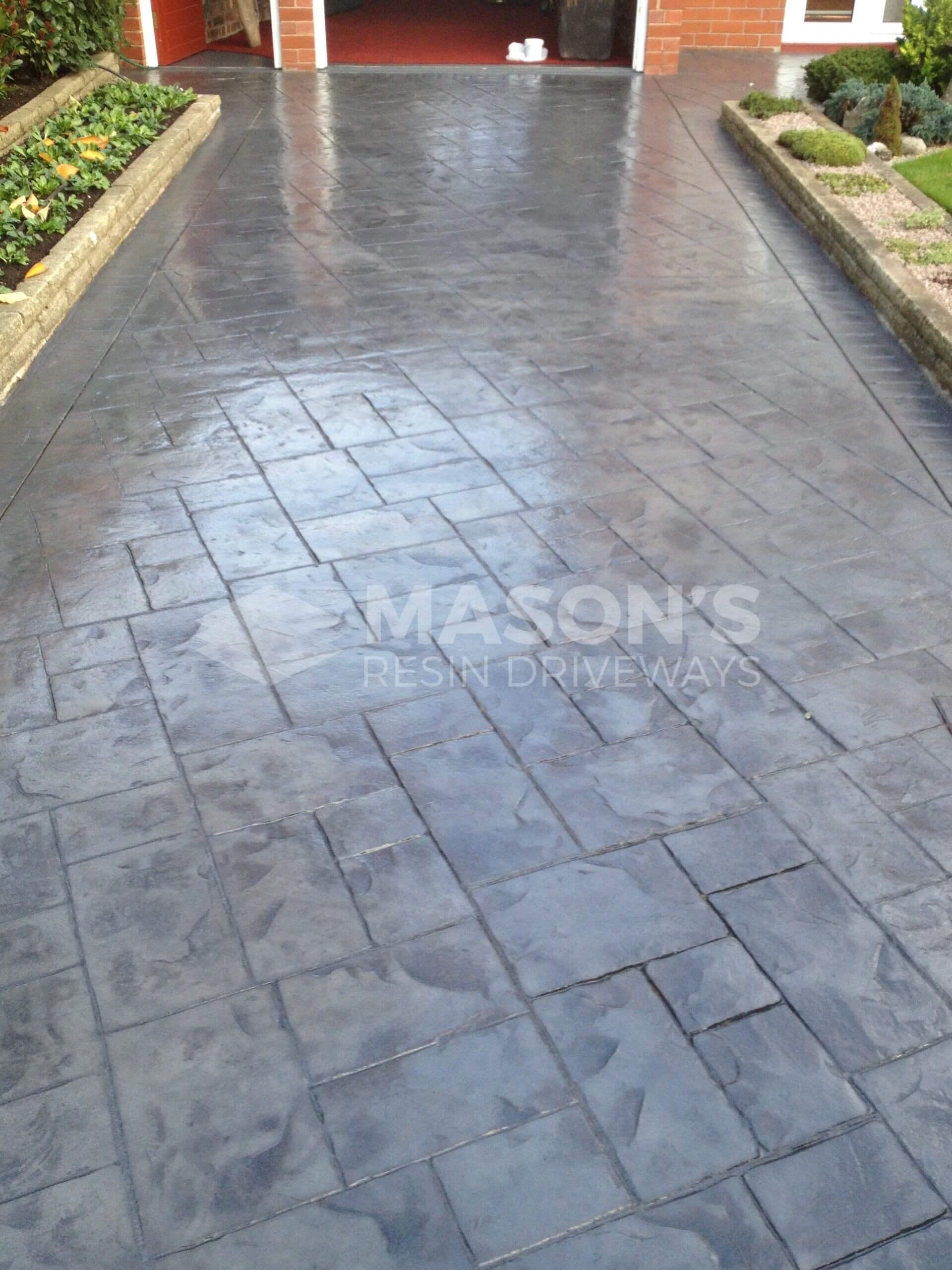 pattern imprinted concrete lancashire