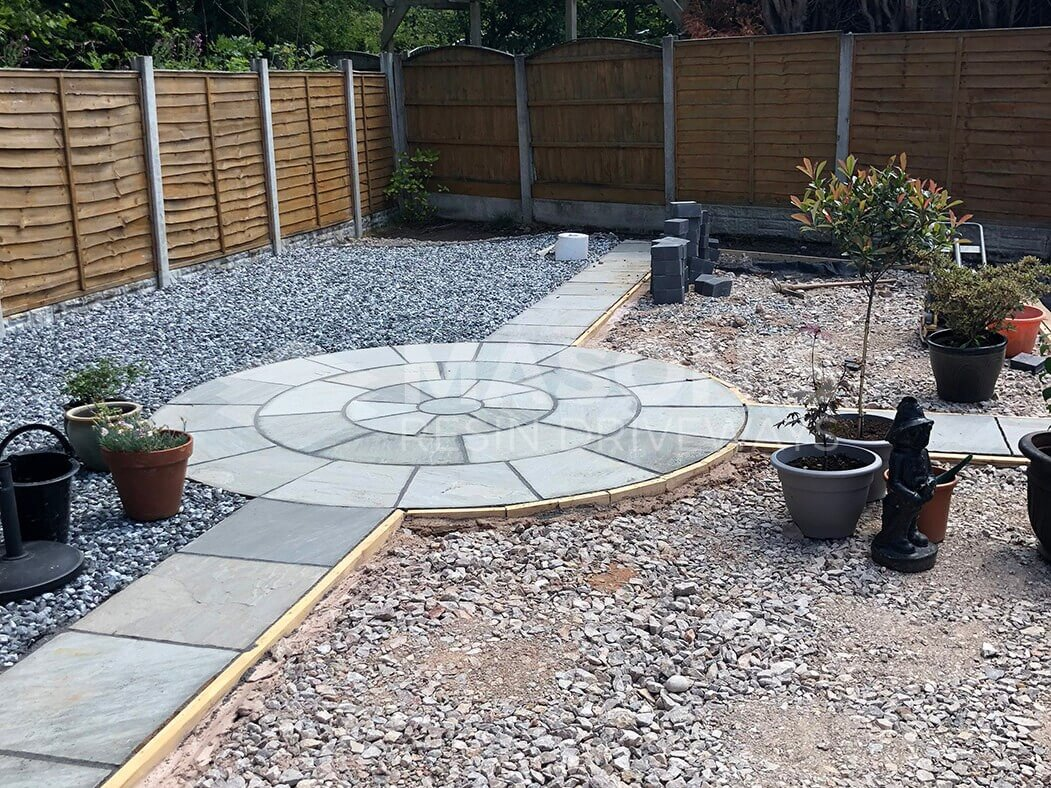 Resin Driveway Landscaping Project, Lostock Hall, Preston, Lancashire