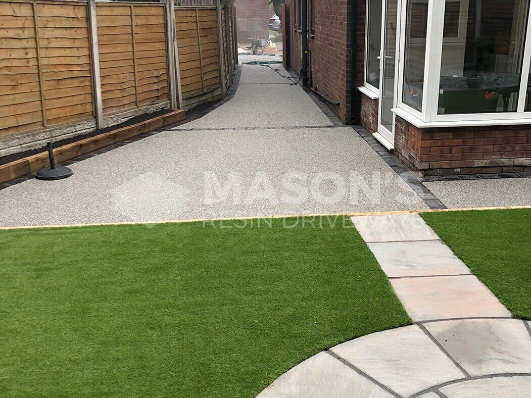 View of Resin Bound Driveway in Lostock Hall, Preston, Lancashire