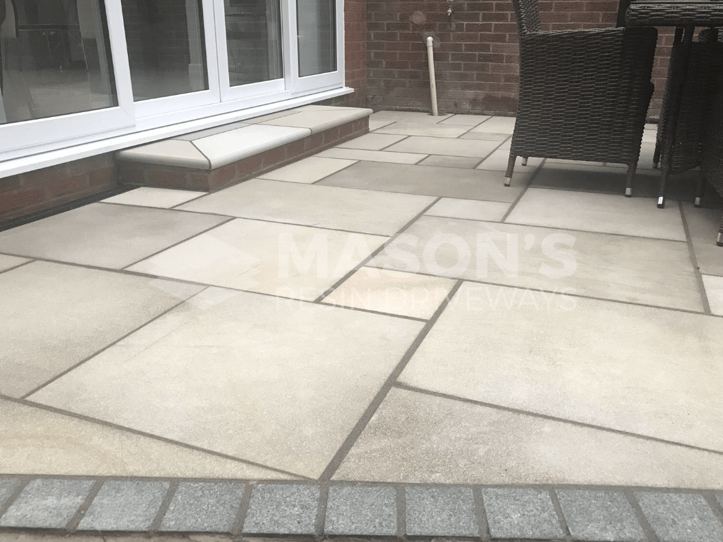 indian sandstone patio penwortham preston