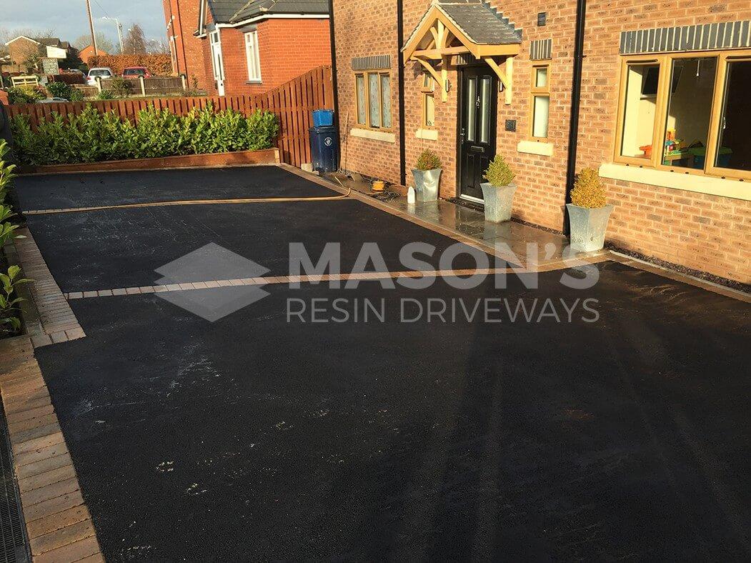 Wide shot of Tarmac Driveway in Preston, Tarleton