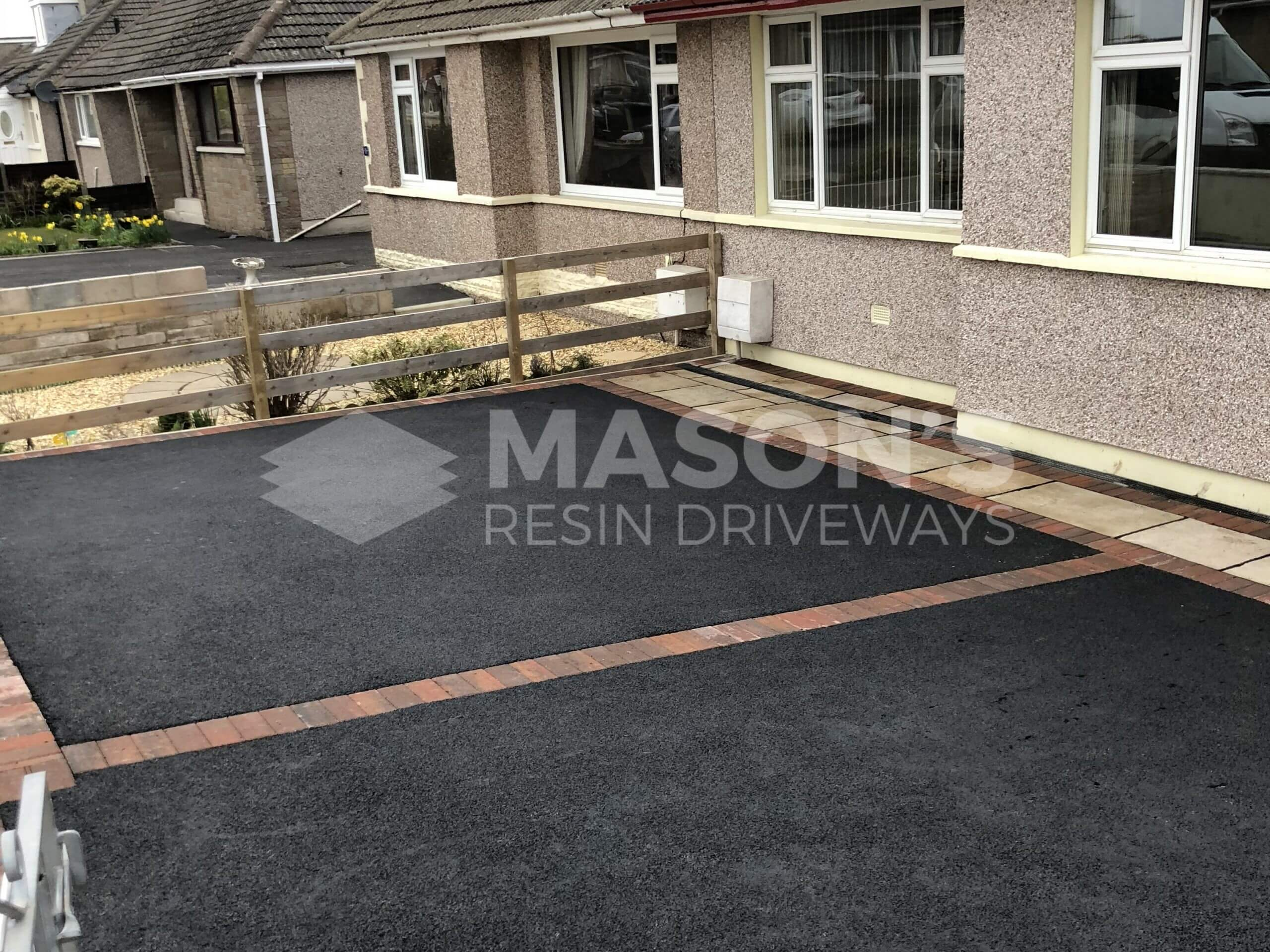 Tarmac Driveway with Indian Sandstone in Preston, Lancashire