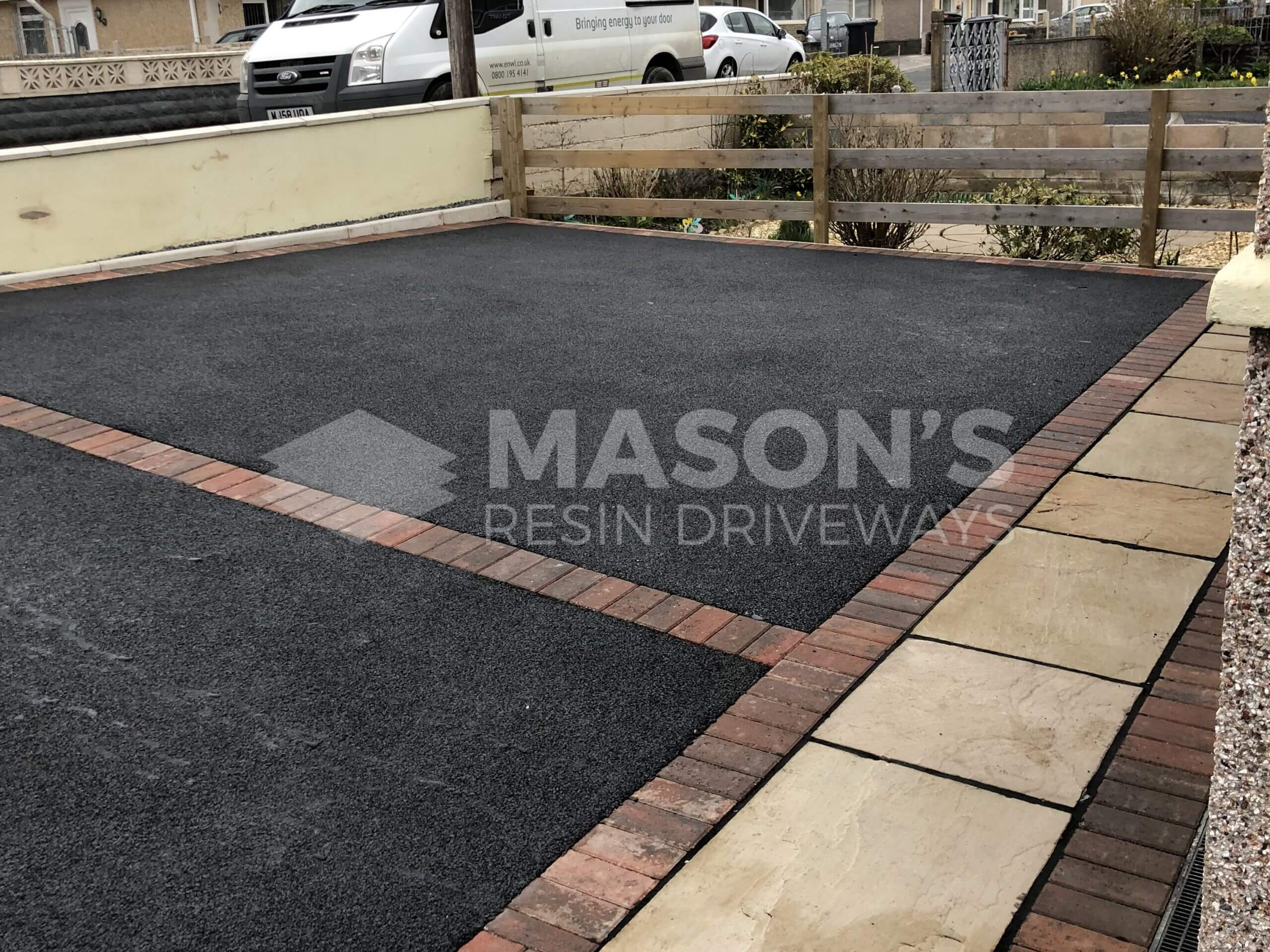 Indian Sandstone and Tarmac Driveway together in Preston, Lancashire