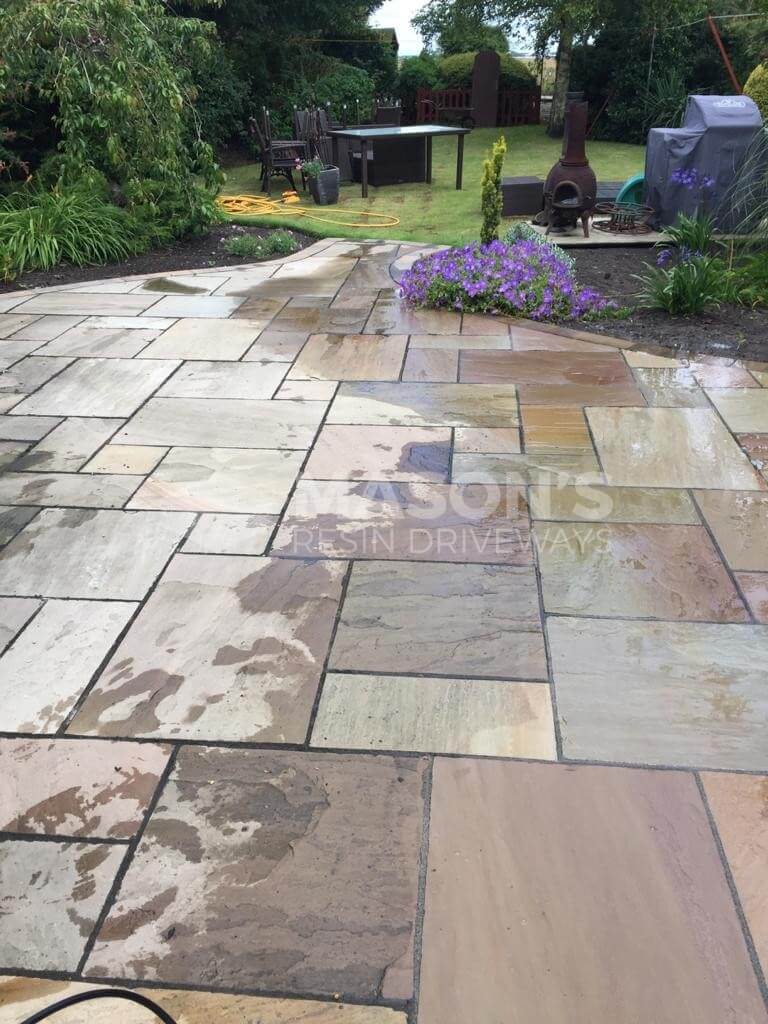 power washing paving in garden preston