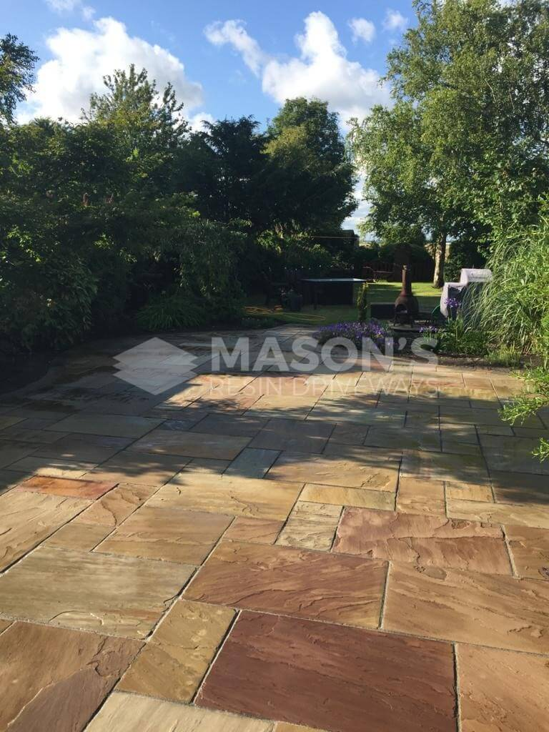 power washing block paving in preston