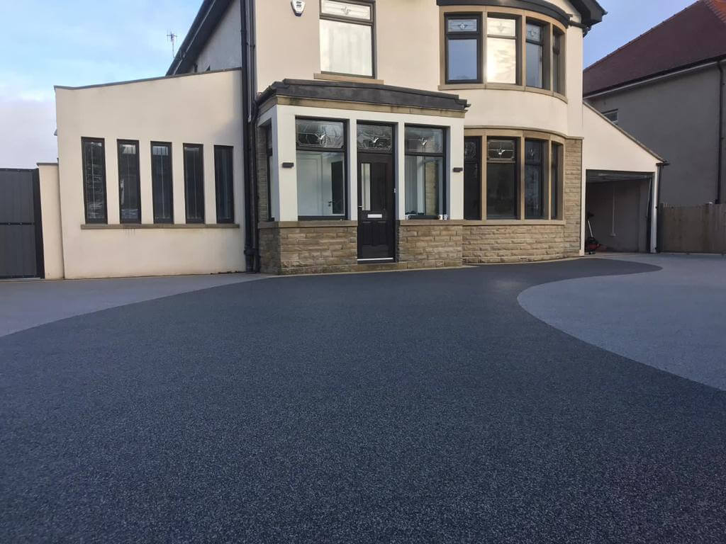 gorgeous resin bound driveway installed
