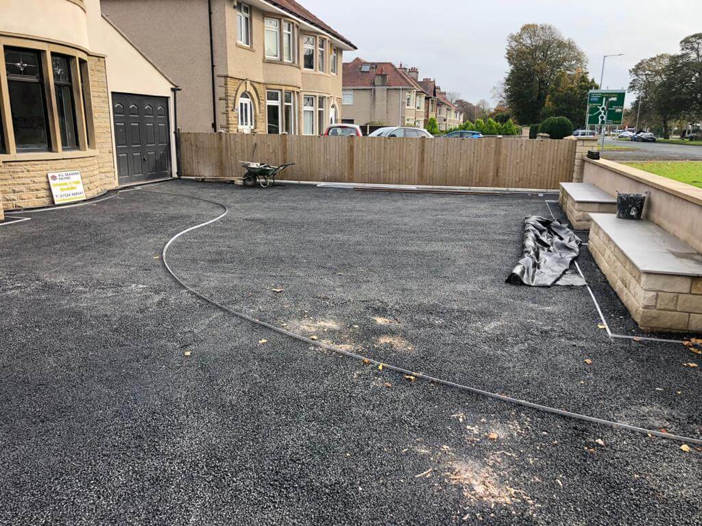 process of resin bound driveway