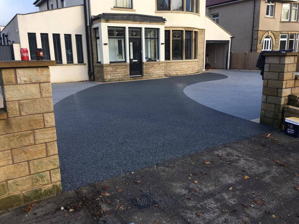 view of house and resin bound driveway